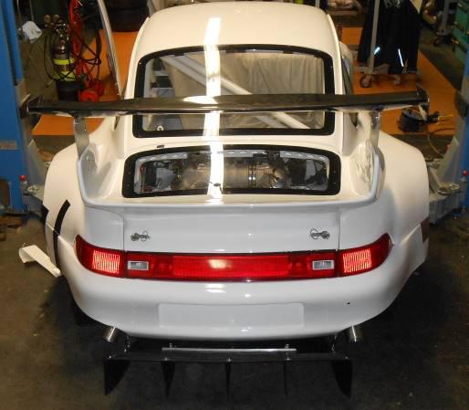 Porsche 993 RSR / GT2 - werk 1 - Heckansicht