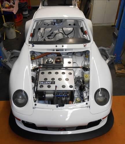 Motorraum Porsche 993 RSR